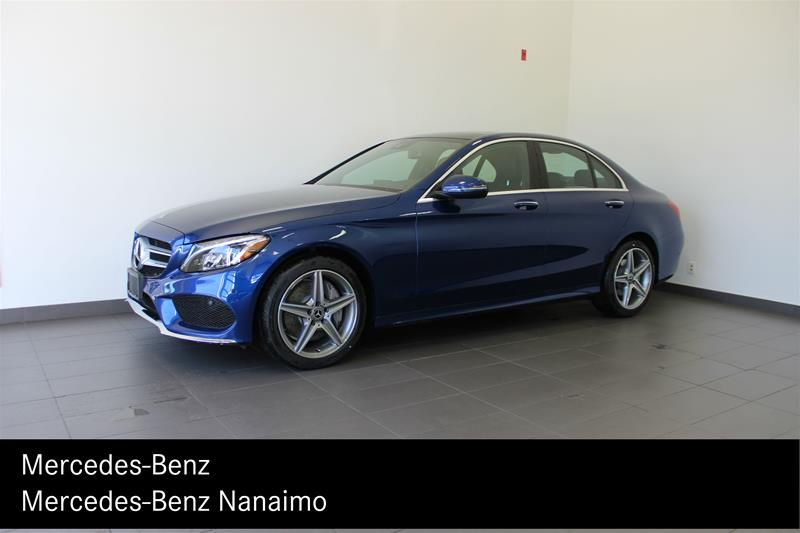 certified pre-owned 2017 mercedes-benz c300 4matic sedan 4-door