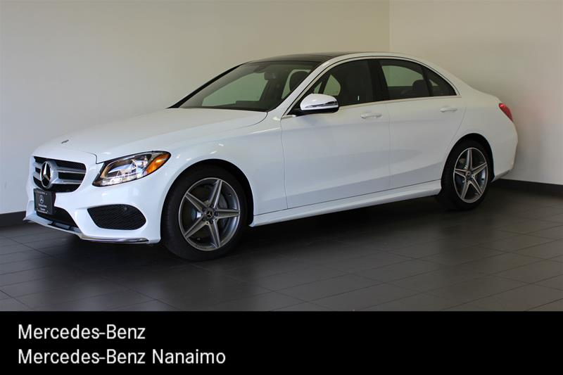 pre-owned 2017 mercedes-benz c300 4matic sedan 4-door sedan in