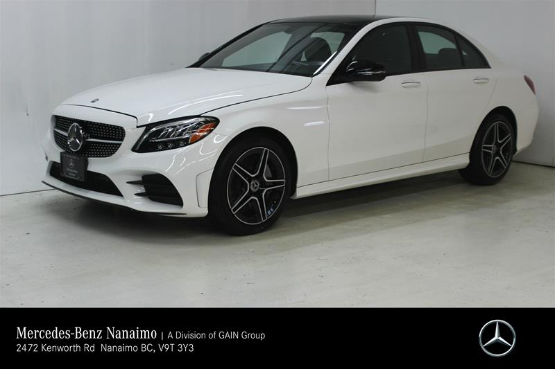 New 2019 Mercedes-Benz C300 4MATIC Sedan