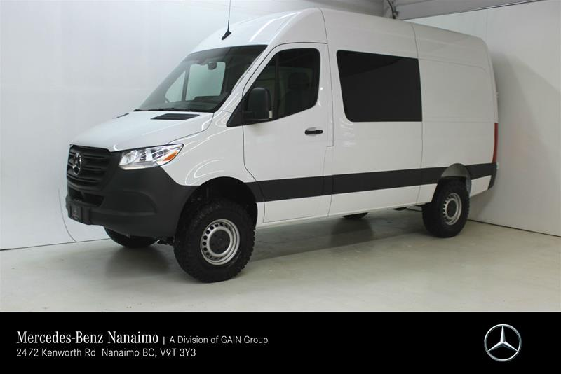 New 2019 Mercedes-Benz Sprinter 4x4 2500 Crew Van 144