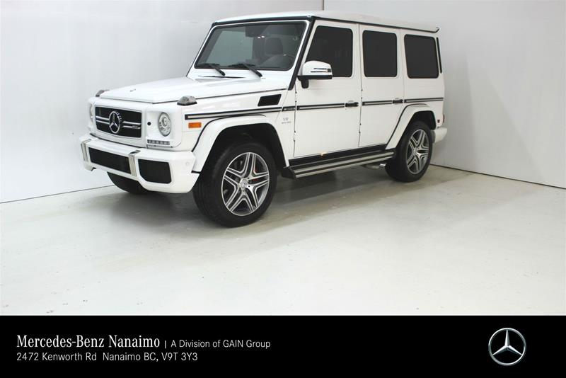 Pre-Owned 2017 Mercedes-Benz G63 AMG SUV