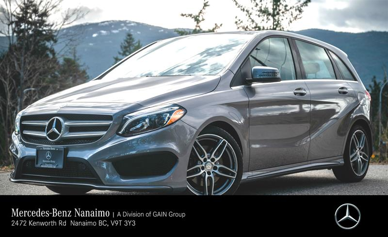 Certified Pre-Owned 2017 Mercedes-Benz B250 4MATIC Sports Tourer
