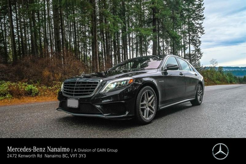 Pre-Owned 2014 Mercedes-Benz S63 AMG 4MATIC Sedan