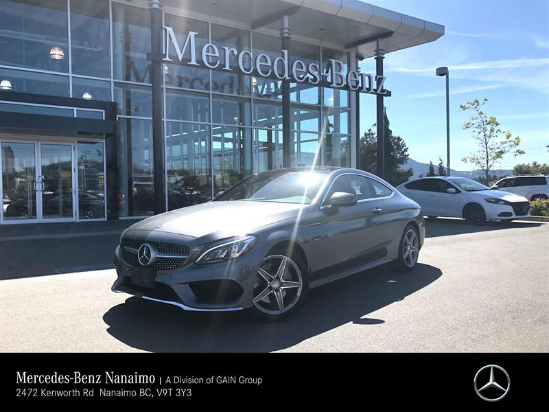 Certified Pre Owned 2017 Mercedes Benz C300 4matic Coupe