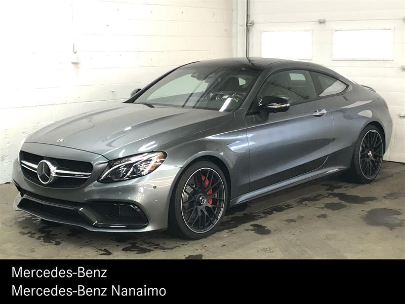 Certified Pre-Owned 2018 Mercedes-Benz C63 S AMG Coupe