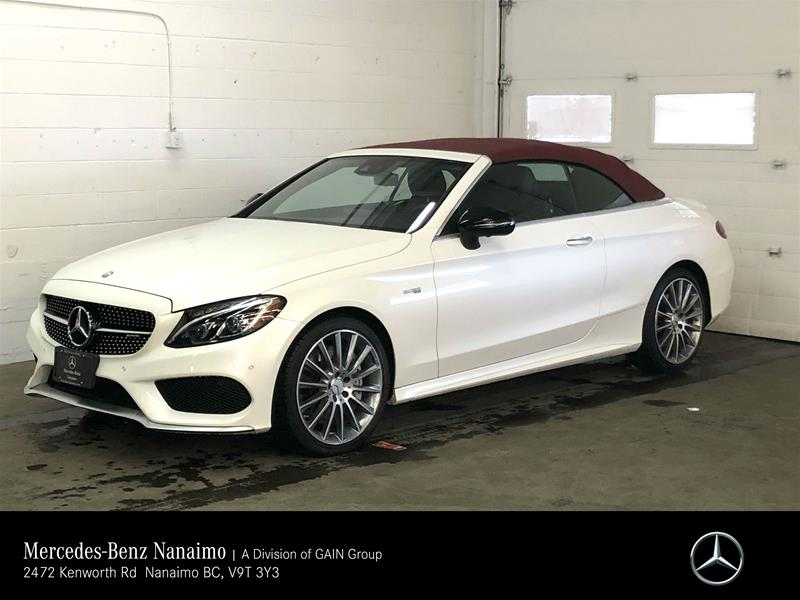 Certified Pre-Owned 2017 Mercedes-Benz C43 AMG 4MATIC Cabriolet