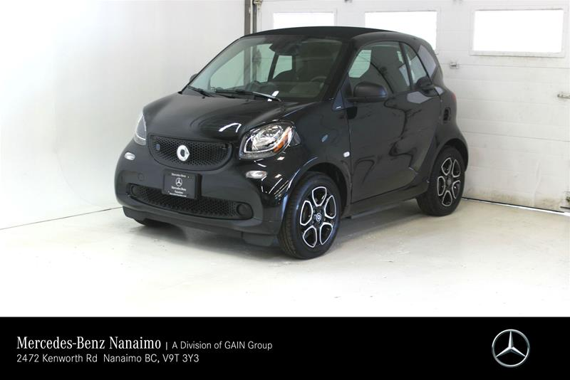 Pre-Owned 2018 smart fortwo electric drive cpé