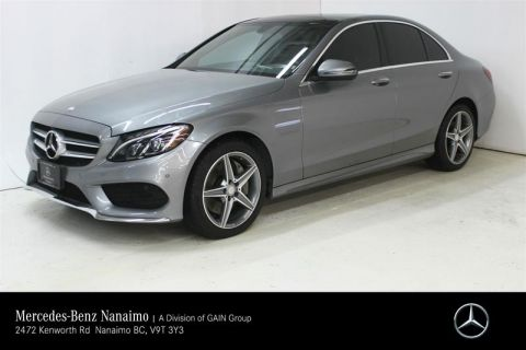 Pre-Owned 2016 Mercedes-Benz C300 4MATIC Sedan