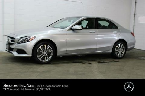 Pre-Owned 2015 Mercedes-Benz C300 4MATIC Sedan