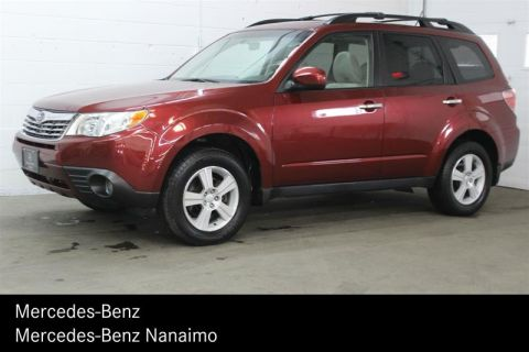 Pre-Owned 2010 Subaru Forester 2.5X Touring 5sp