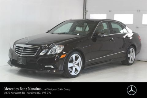 Pre-Owned 2011 Mercedes-Benz E350 4MATIC Sedan