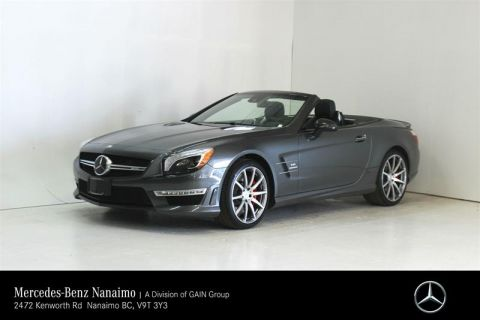 Certified Pre-Owned 2016 Mercedes-Benz SL63 AMG Roadster