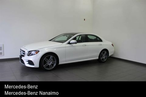 New 2018 Mercedes-Benz E300 4MATIC Sedan