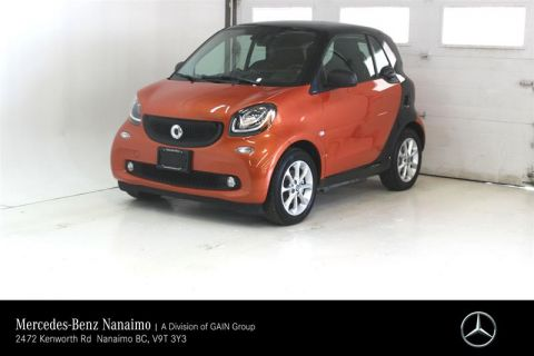 Pre-Owned 2017 smart fortwo electric drive cpé